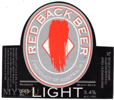 RED BACK BEER