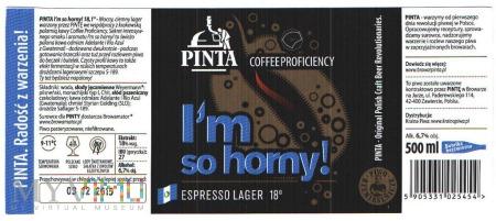 Pinta, I'm so horny