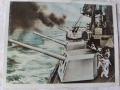 salwa z niemieckiego okrętu