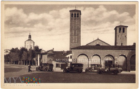 Milano (Mediolan) - Bazylika św. Ambrożego