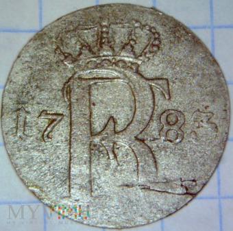 Fryderyk II Wielki 1740-1786-24 część talara 1783A