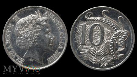 Australia, 10 centów 2012