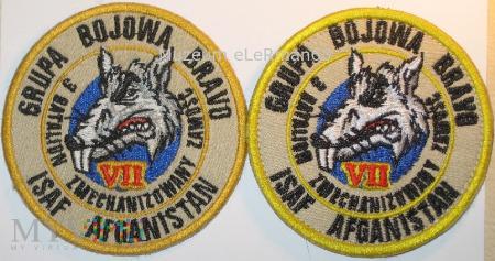 GB BRAVO PKW ISAF Afganistan VII zmiana.
