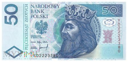 Polska - 50 złotych (1994)