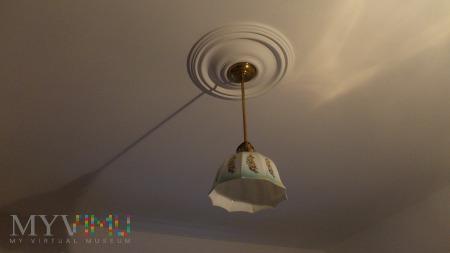Przedwojenna lampa kuchenna - Art Deco
