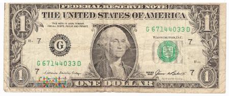 Stany Zjednoczone - 1 dolar (1985)