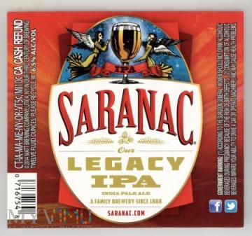 Saranac, Legacy IPA
