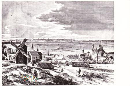 WARTA – Drzeworyt - Kłosy 1876 r.