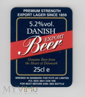 Danish Export Beer