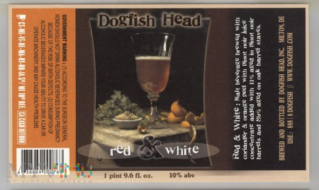 Dogfish Head, Red & White