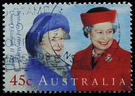 Australia 45c Elżbieta II