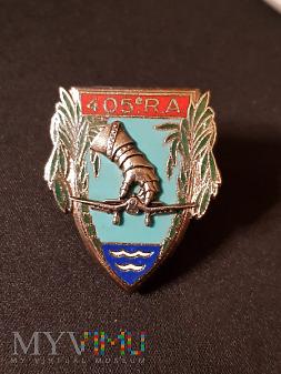 Pamiątkowa odznaka 405 Pułku Artylerii - Francja