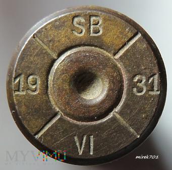 Łuska 7,92x57 SB/31/VI/19/