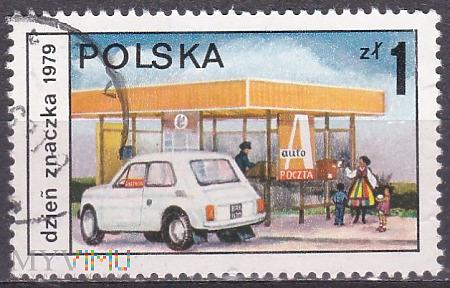 Dzień znaczka 1979 - auto poczta