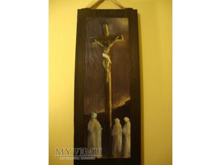 Jezus na krzyżu -