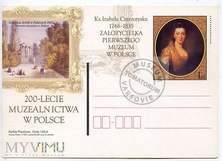 200-lecie Muzealnictwa w Polsce 2001