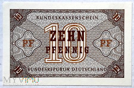Niemcy 10 pf 1967