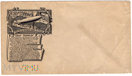 1.3a-Graf Zeppelin ,Stulecie postępu, Lot do Chica