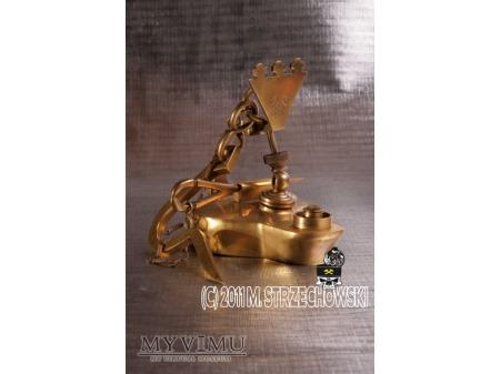 Lampa górnicza olejowa (żabka)