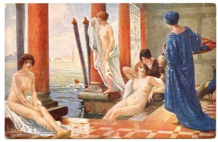 Faugeron - Kąpiące się w Wenecji