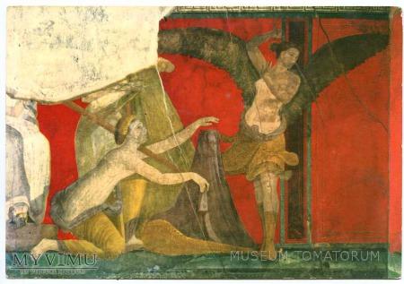 Pompeje - freski - Mistyczna Vannus