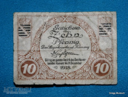 Duże zdjęcie 10 Pfennig 1918 (Notgeld)
