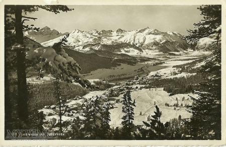 Szwajcaria - Pontresina mit Julierkette