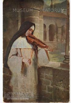 Kaulbach - zakonnica - Ave Maria