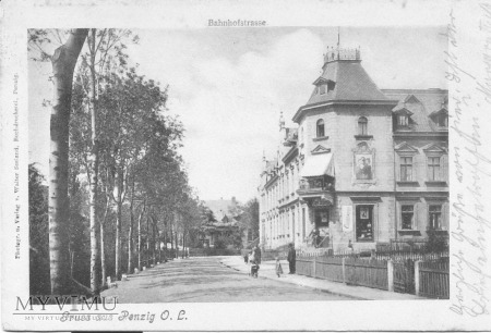 Bahnhofstrasse [obecnie ulica Bolesławiecka]