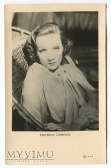 Marlene Dietrich EMBR Łotwa nr 2146 postcard