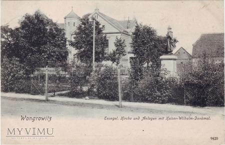 Wągrowiec kościół ewangelicki 1906 rok