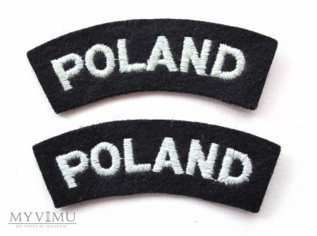 Oznaka przynaleznosci panstwowej POLAND