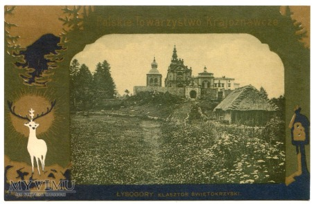 Góry Świętokrzyskie Klasztor Święty Krzyż