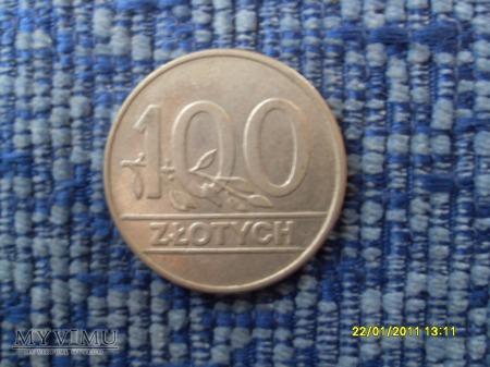 100 złotych RP. (stówka,setka).