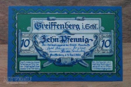 10 PHENNIG 1920 NOTGELD