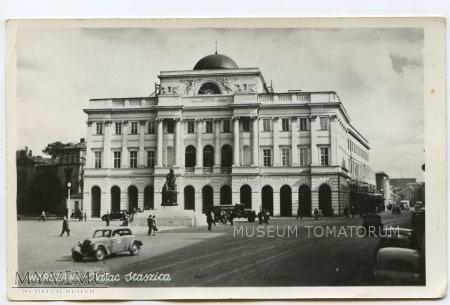 Warszawa - Pałac Staszica - 1950/1960