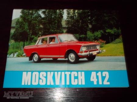 Prospekt MOSWICZ 412