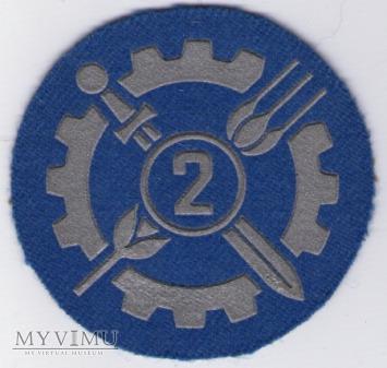 Oznaka specjalisty - służba kwatermistrzowska 2kl