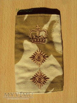 Wieka Brytania-oznaka stopnia: pułkownik