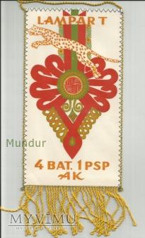Proporczyk - 4 Bat. 1 PSP AK