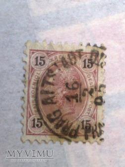 Franz-Joseph 1890 15 Krajcar austro-węgierski