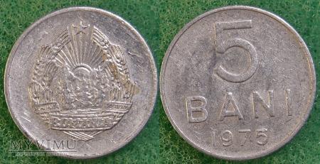 Rumunia, 5 Bani 1975