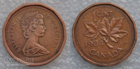 Kanada, 1 CENT 1984