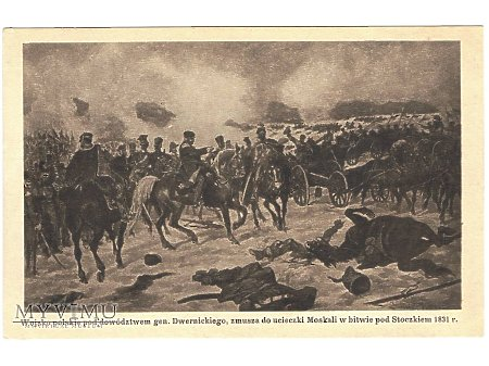Bitwa pod Stoczkiem.