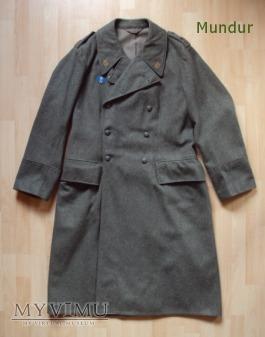 Płaszcz zimowy kaprala hemvärnet z 1941r.