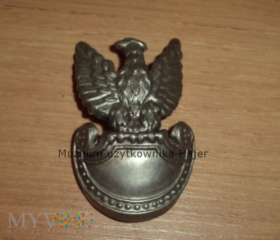 Stary orzeł z czapki żołnierza LWP