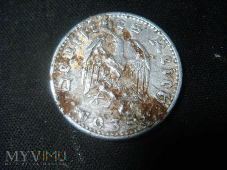 50 Reichspfennig 1935 A