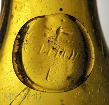 Stara butelka po winie Carnow?