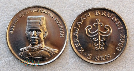 Brunei, 5 sen 2006