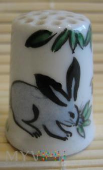 Naparstek -królik